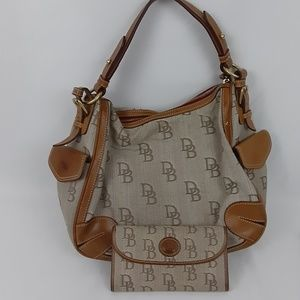 DOONEY & BOURKE Purse w/ matching Wallet